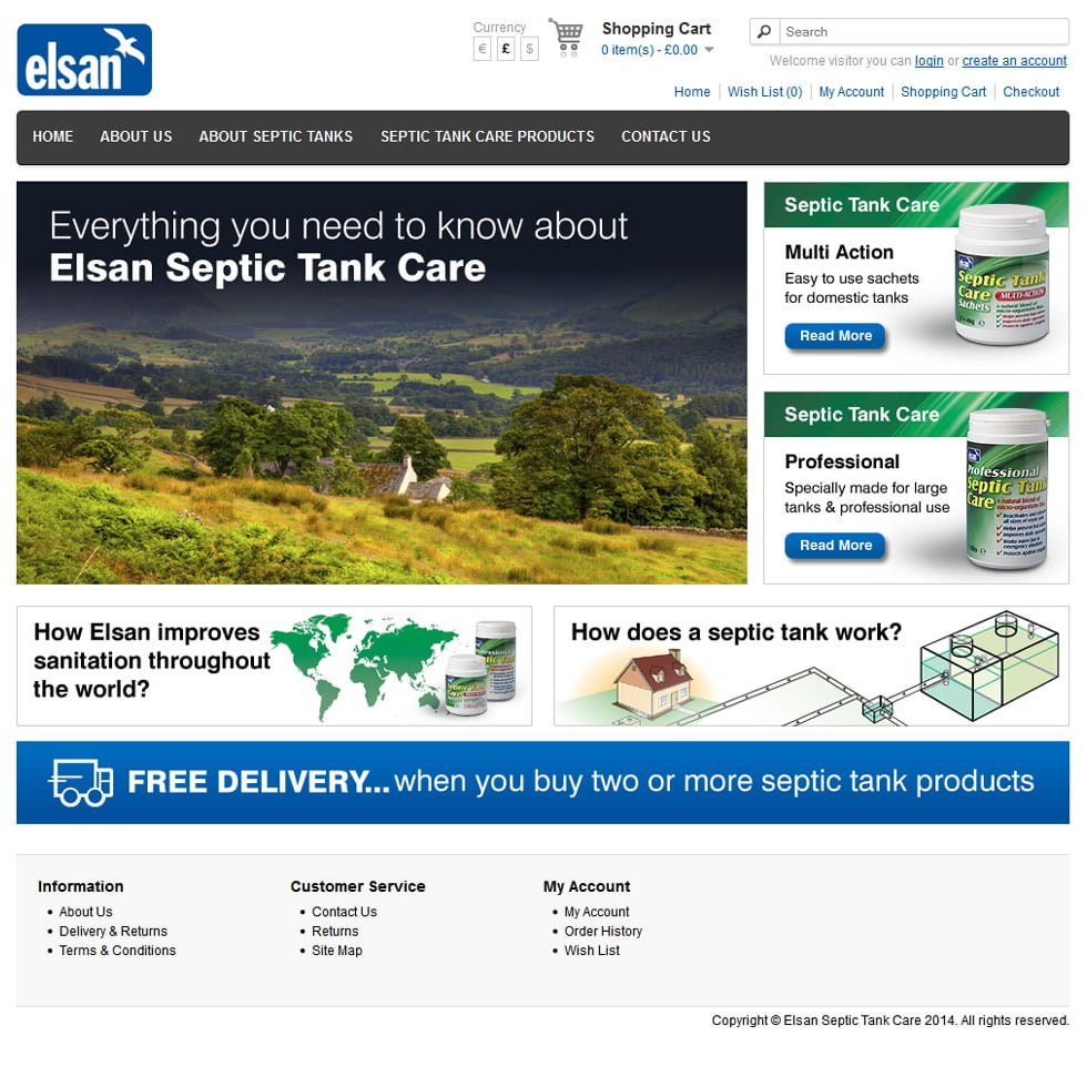 Elsan Septic Tank Care