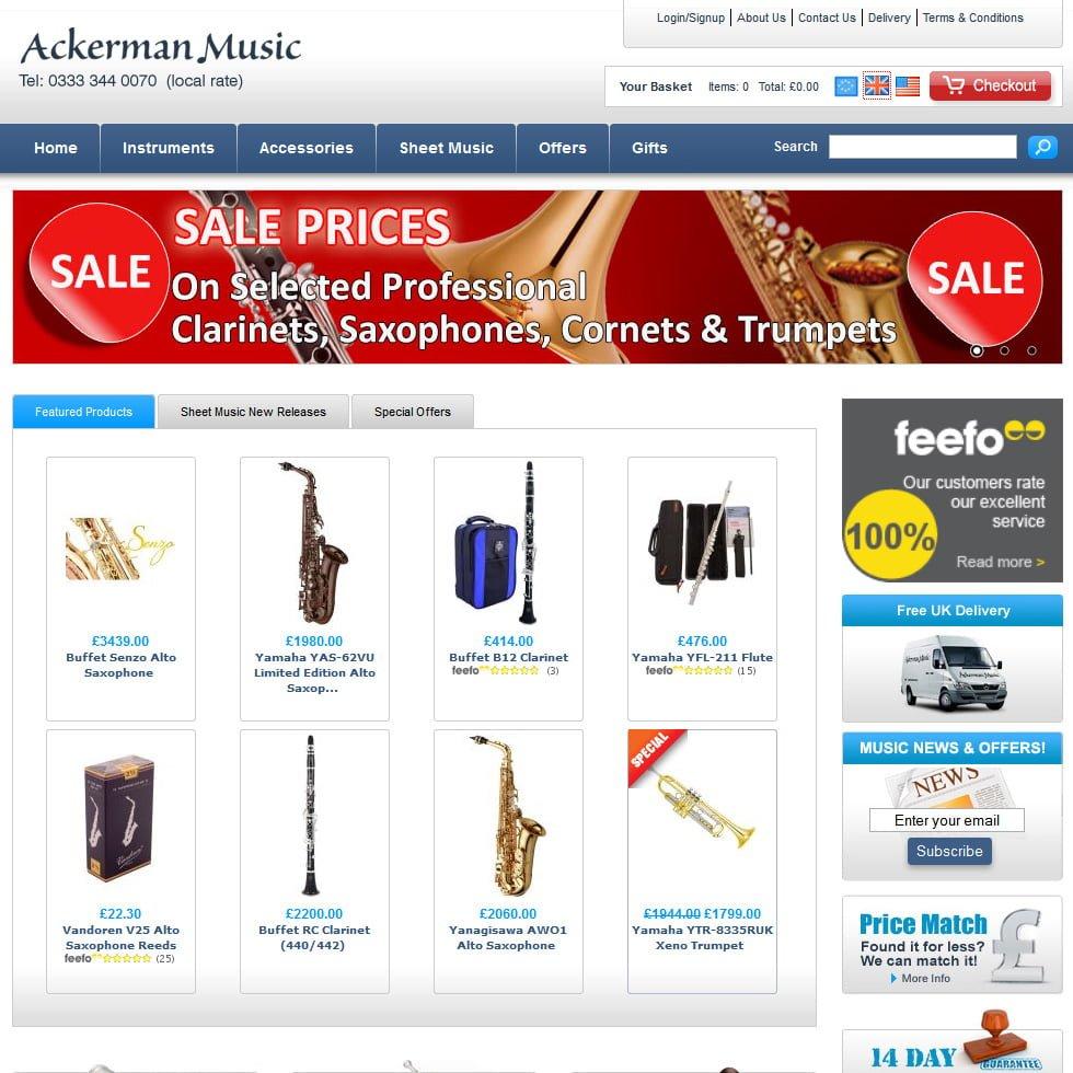 Ackerman Music