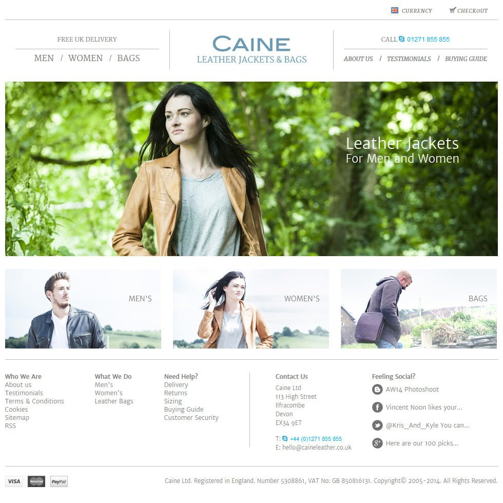 Caine Leather