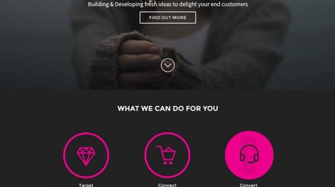 Another responsive WordPress website design
