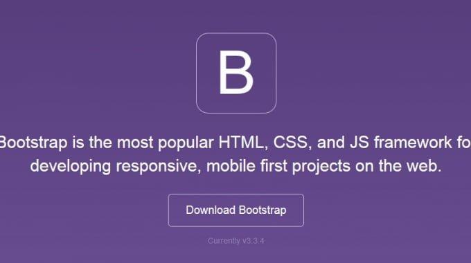 Bootstrap for responsive websites