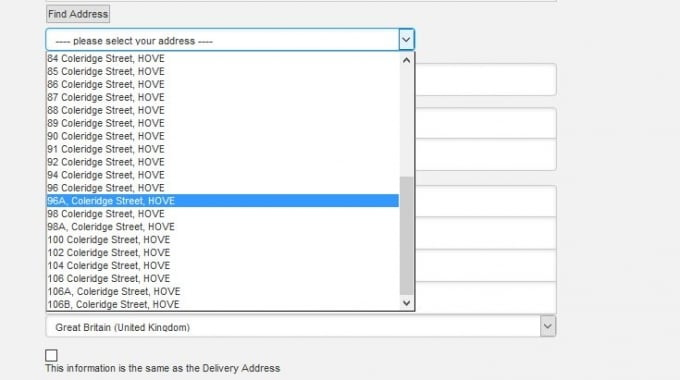 Improve Postcode and Address collection in your online store