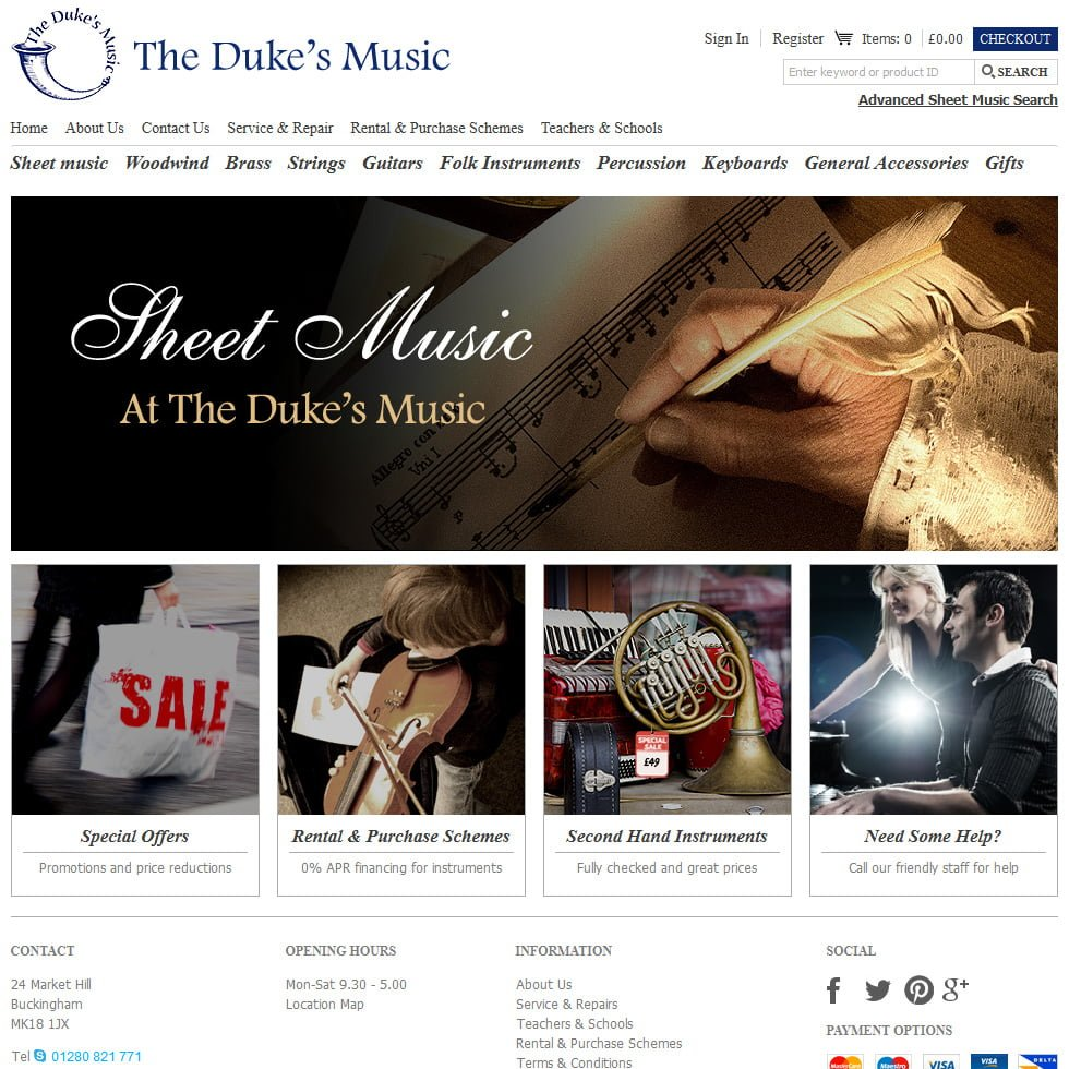 The Duke's Music