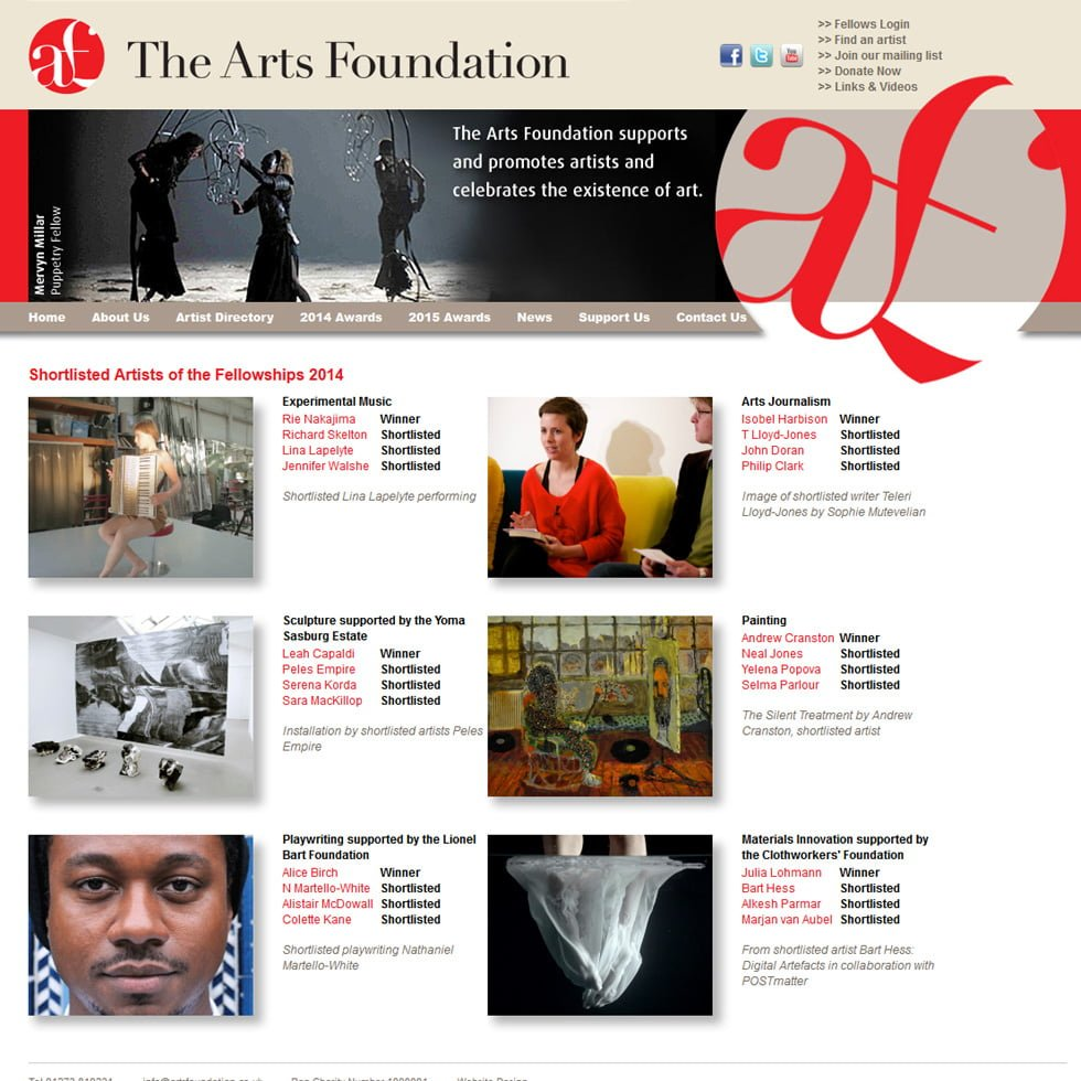 The Arts Foundation