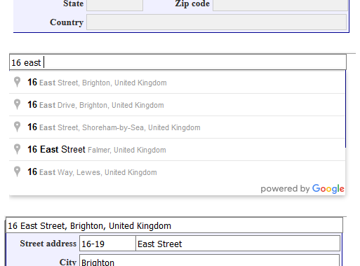 Implementing Google Maps Address Auto Complete In X-Cart 4