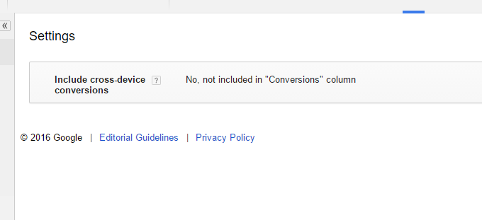 """Include Cross-device Conversions In Your """"Conversions"""" Column 